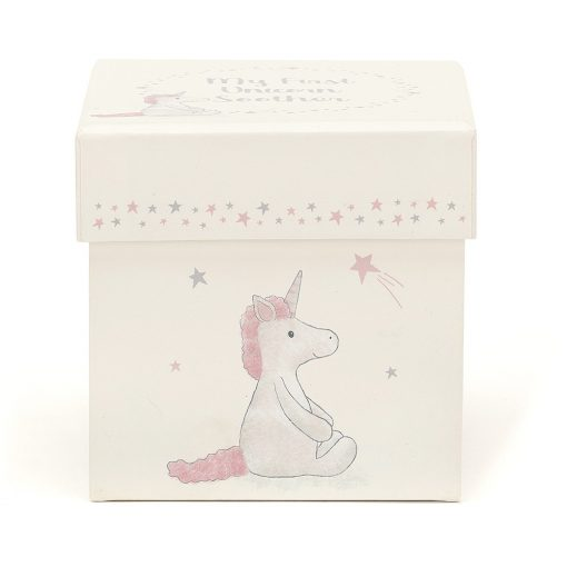 Jellycat My First Unicorn Soother BB4MFUS 1