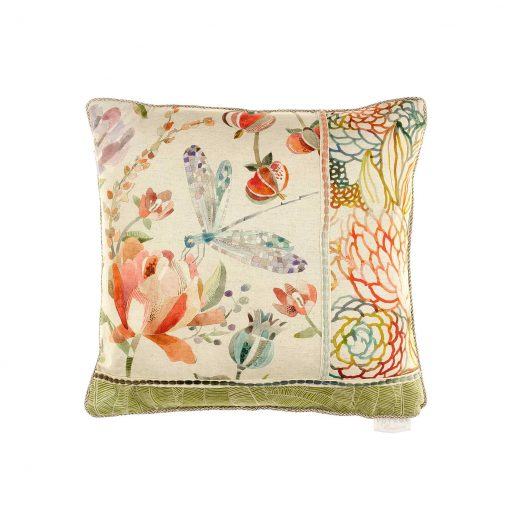 Voyage Volatus Cinnamon Patchwork Cushion C180032