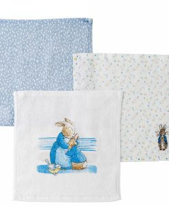 Peter Rabbit Baby Collection Face Cloth (set of 3)