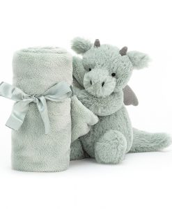 Jellycat Bashful Dragon Soother SO4BDR_1