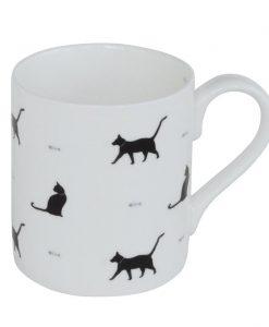 Sophie Allport Black Cats & Bones Mug BMCAB02