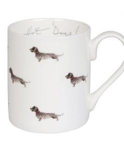 Sophie Allport Dachshund Hot Dogs! Mug BM4602