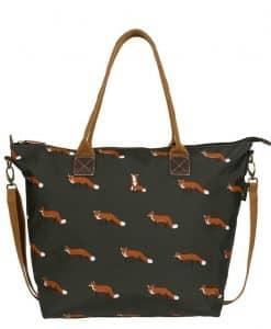 Sophie Allport Foxes Oilcloth Oudle Bag PVC63520