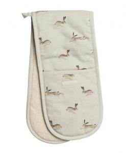 Sophie Allport Hare Double Oven Glove ALL25100