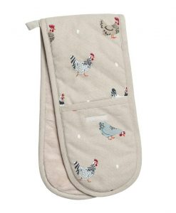 Sophie Allport Lay a Little Egg Double Oven Glove ALL37100