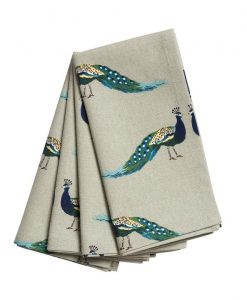 Sophie Allport Peacocks Napkins Set of 4 ALL64300