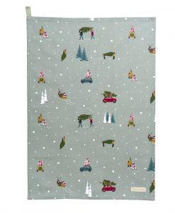Sophie Allport Home for Christmas Tea Towel ALL60601