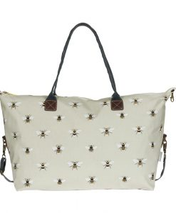 pvc36515w-bees-oilcloth-oundle-bag-weekend-Sophie Allport