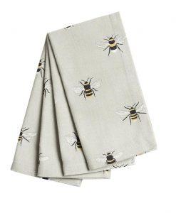 Sophie Allport Bees Napkins set of 4 ALL36300