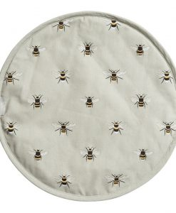 Sophie Allport Bees Round Hob Cover ALL36175