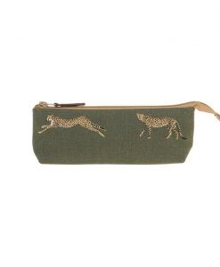 Sophie Allport Cheetah Canvas Accessory Case ALL53520