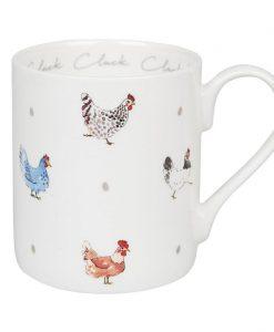 Sophie Allport Chicken Cluck Cluck Cluck Standard Mug BM3702