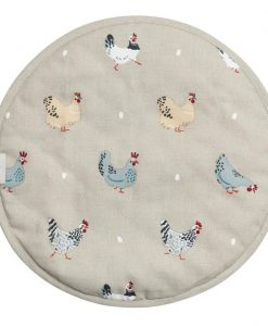 Sophie Allport Chicken Lay a Little Egg Hob Cover All37175