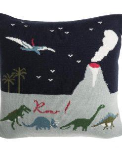 Sophie Allport Dinosaurs Knitted Cushion KSC45410