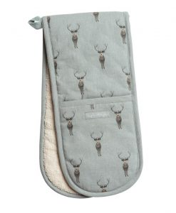 Sophie Allport Highland Stag Double Oven Glove ALL29100