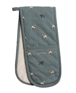 Sophie Allport Pug Double Oven Glove ALL47100