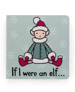 Jellycat If I Were and Elf Book