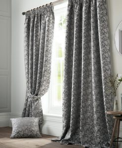 Ashley Wilde Bayford Grey Curtains