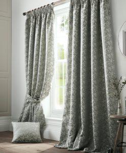 Ashley Wilde Bayford Seafoam Curtains