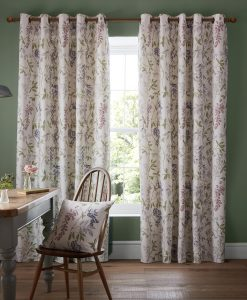 Ashley Wilde Emily Fuschia Curtains