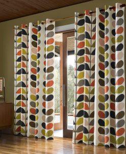 Orla Kiely readymade curtains Multi Stem Multi FINAL small