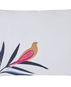 Sarah Miller Pillow case Bamboo Left Pillowcase Cut Out