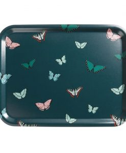Sophie Allport Butterflies Printed Tray Small