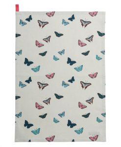 Sophie Allport Butterflies Tea Towel