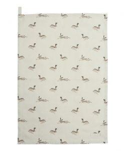 Sophie Allport Hare Tea Towel ALL25601
