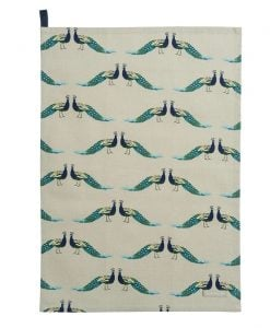 Sophie Allport Peacocks Tea Towel ALL64601