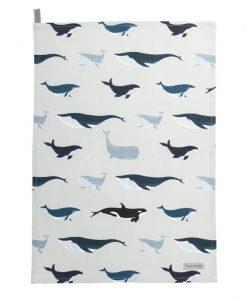 Sophie Allport Whales Tea Towel ALL69601