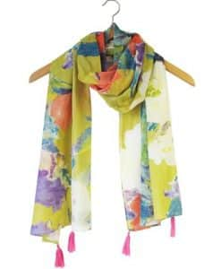 House of Disaster Mustard Scarf 916SCAMD