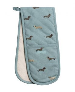 Sophie Allport Dachshund Double Oven Glove ALL46100
