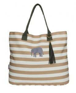 Sophie Allport Elephant Canvas Tote Bag POLY54575