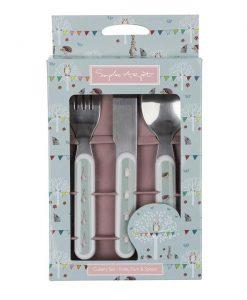 Sophie Allport Woodland Party Childrens Melamine Cutlery Set MCS2301