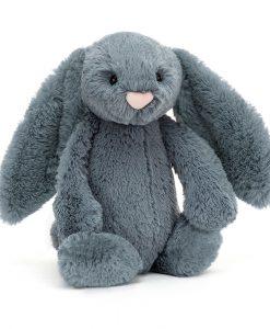 Jellycat Bashful Dusky Blue Bunny Medium BAS3DUSKB