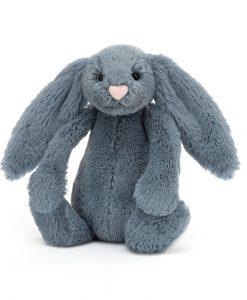 Jellycat Bashful Dusky Blue Bunny Small BASS6DUSKB