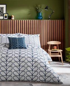 Orla Kiely Linear Stem Whale Bedding