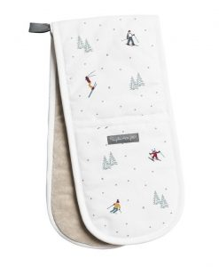 Sophie Allport Skiing Double Oven Glove ALL49100