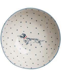 Sophie Allport Dachshund Stoneware Nibbles Bowl
