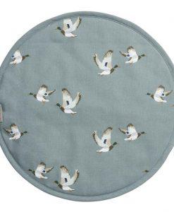 Sophie Allport Ducks Circular Hob Cover ALL71175