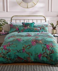 Ted Baker Hibiscus Jade Bedding