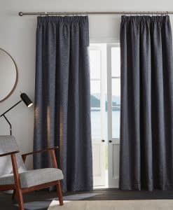 Ashley Wilde Ardley Indigo Blackout Readymade Curtains