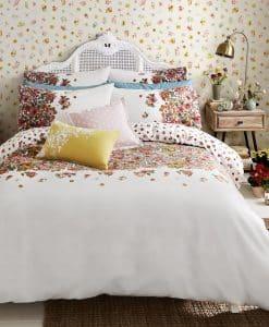Cath Kidston Painted Bloom Warm Cream Bedding