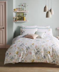 Cath Kidston Pembroke Rose White Bedding