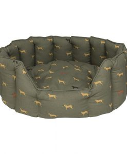 ALL48760 fab labs dog bed large Sophie allport