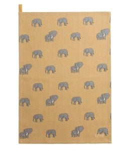 Sophie Allport Elephant Tea Towel ALL54601