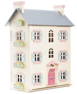H150-cherry-tree-hall-2021-blue-pink-dolls-house-on-white