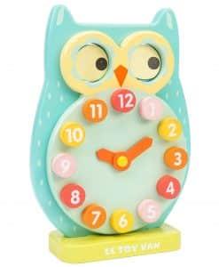 Le Toy Van Blink Owl Clock PL010