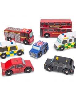 Le Toy Van London Car Set TV267